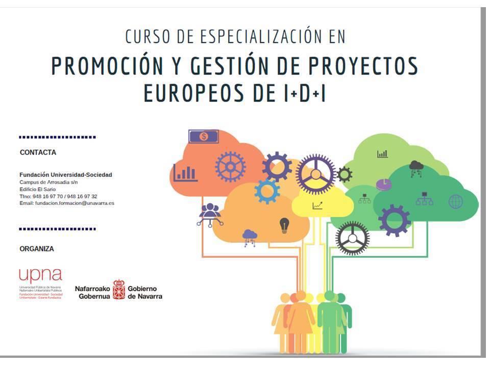 Abierto el plazo para el curso en gestión de proyectos europeos de I+D+i