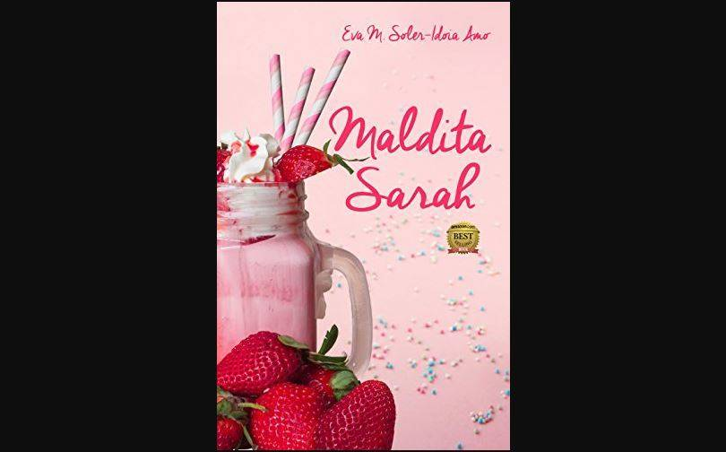 Cubierta de la novela Maldita Sarah