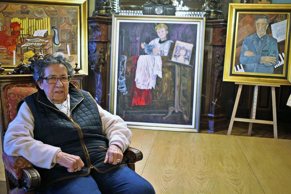 Muere a los 87 años la pintora Ana Mari Marín