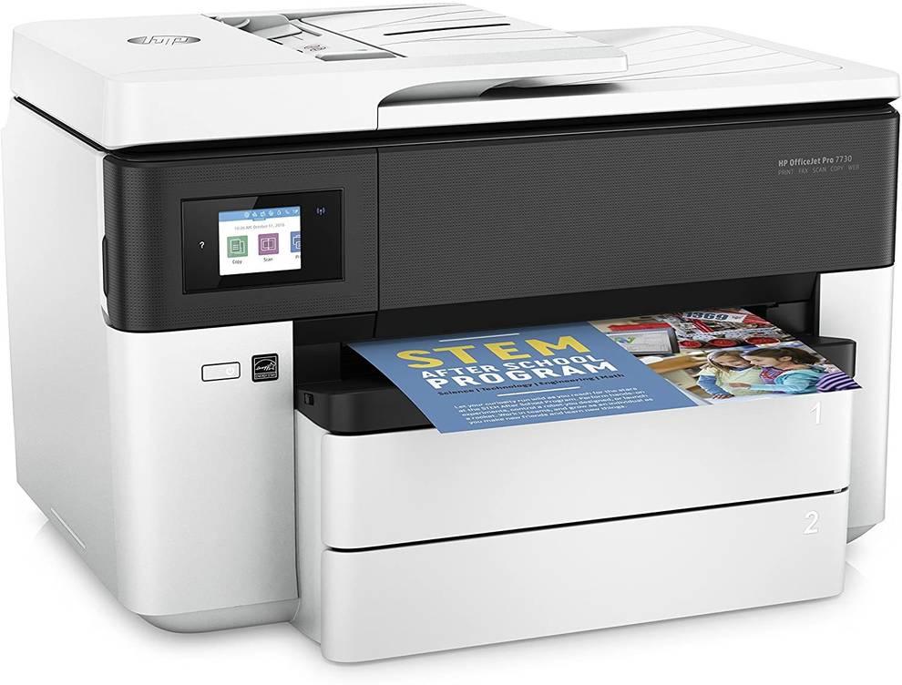 Imagen de la impresora HP Officejet Pro 7730