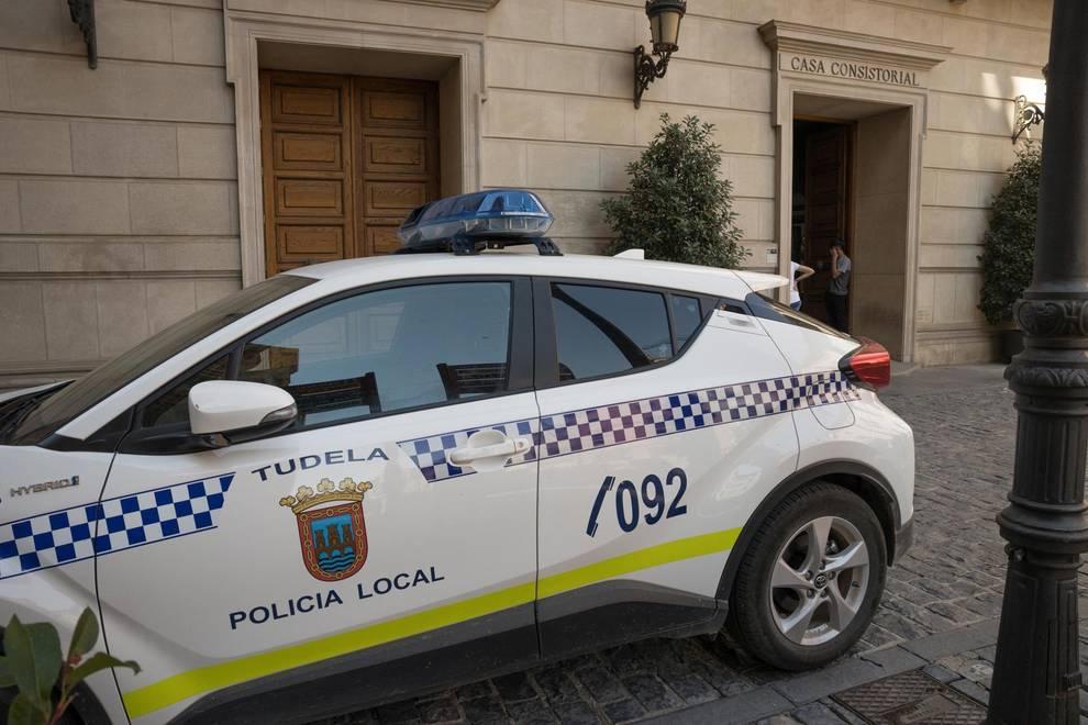 Tres detenidos por robar en el cajetín de monedas de una máquina de ocio en Tudela.