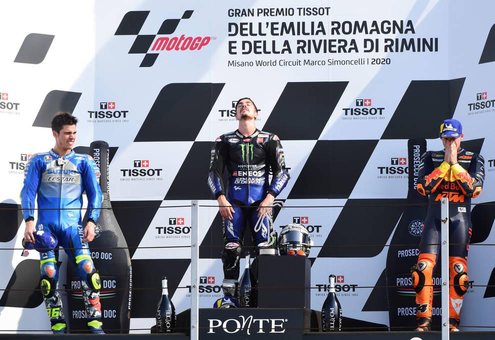 Triplete español en MotoGP en el Gran Premio de Emilia Romagna   Noticias  de Deportes de motor en Diario de Navarra