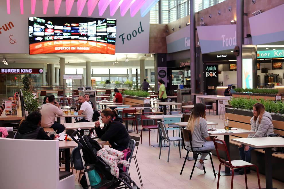 Normalidad ante la reducción del aforo en los centros comerciales