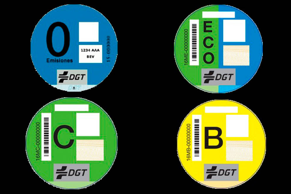 etiqueta medioambientales seguros