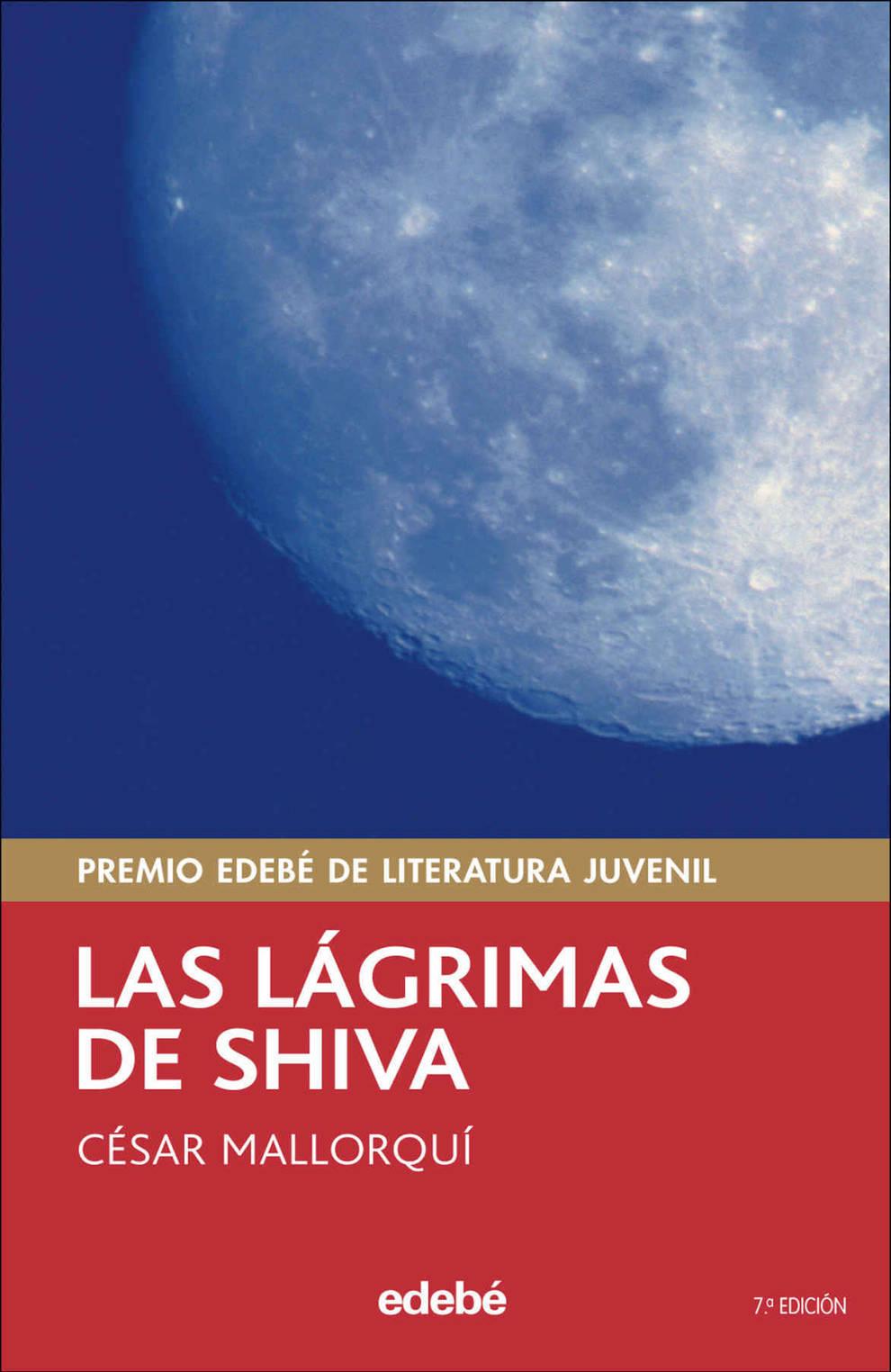 Cubierta del libro Las Lágrimas de Shiva