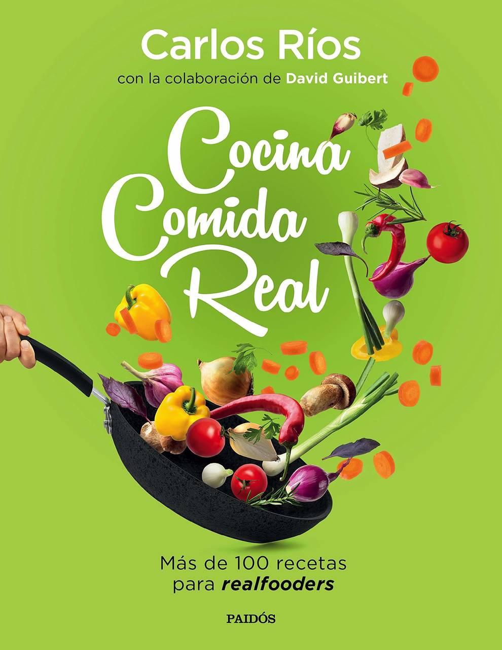 Cubierta del libro Cocina comida real