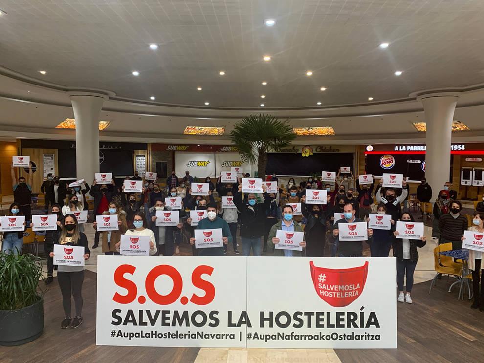 Los locales de hostelería de La Morea rechazan su cierre