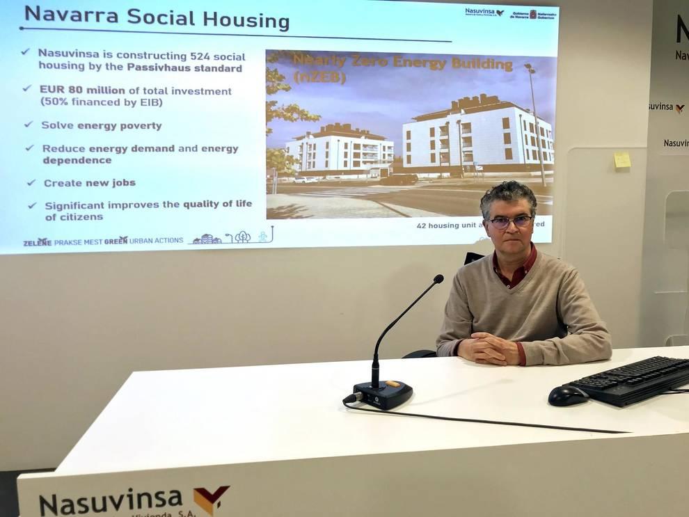 Presentan en Europa las prácticas de vivienda social y edificación sostenible