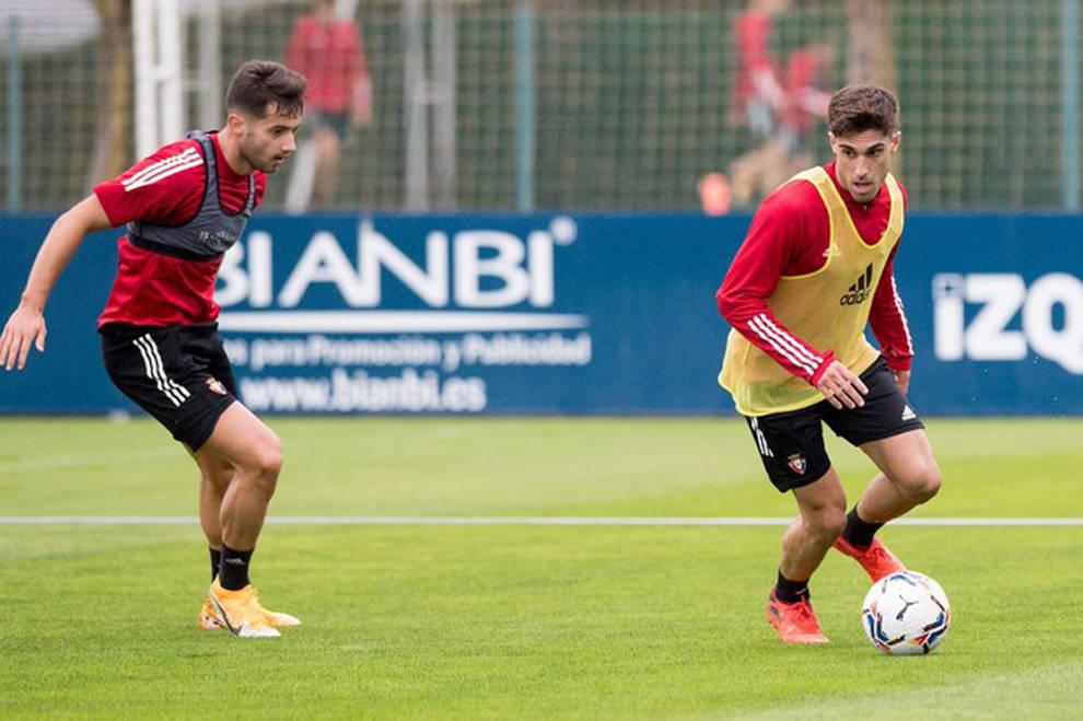 Lucas Torró se exprime para llegar al duelo ante el Atlético NAV-FÚTBOL OSASUNA
