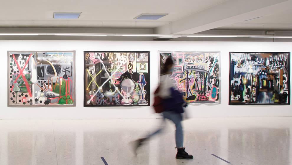 El Sario de la UPNA acoge las obras de Alfonso Ascunce
