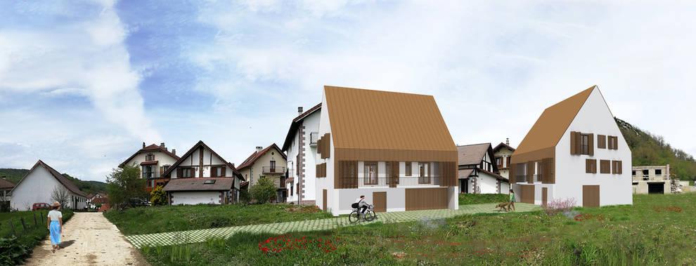 Comienza la construcción de las primeras viviendas de alquiler para jóvenes en el Pirineo
