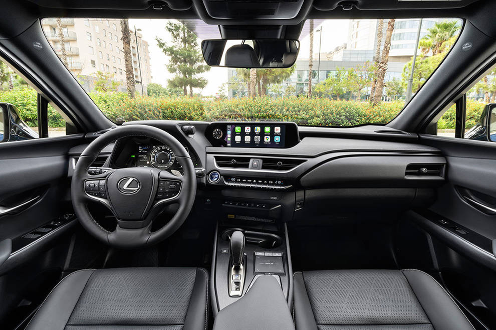 Lexus salpicadero