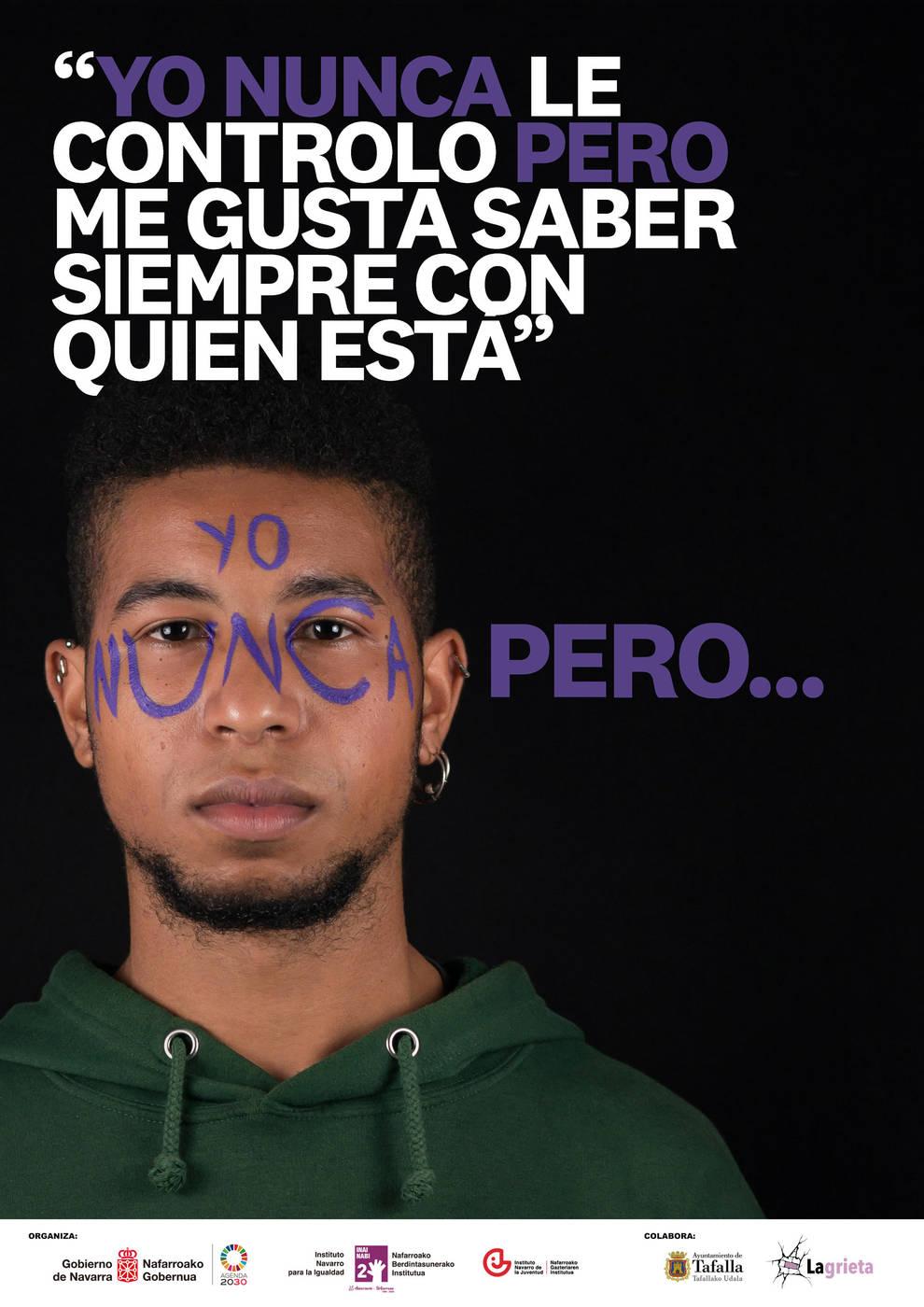 Jóvenes de Tafalla crean una campaña para prevenir la violencia contra las mujeres