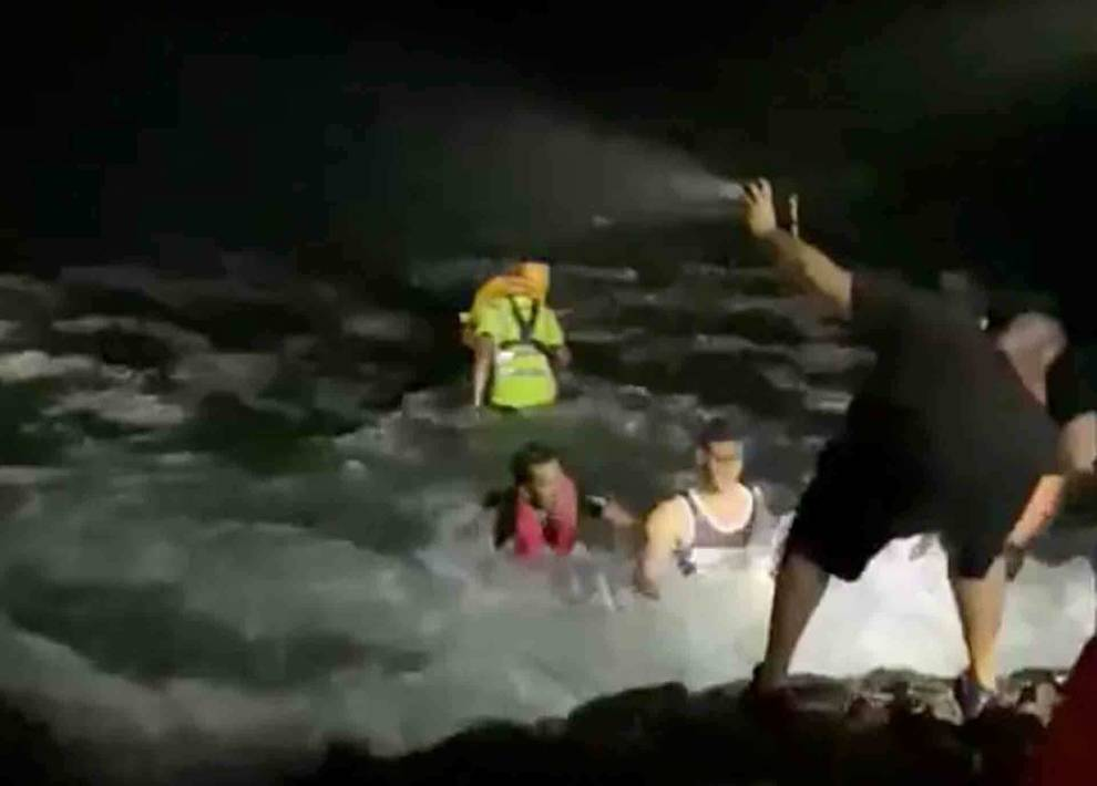 Rescate de emigrantes
