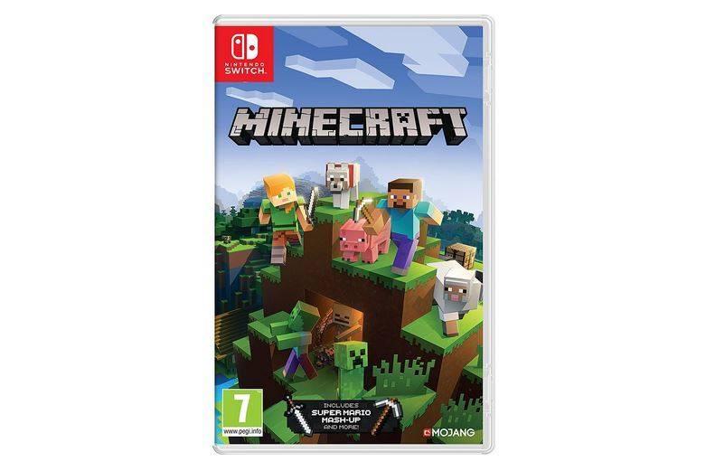 Imagen del juego Minecraft de Nintendo