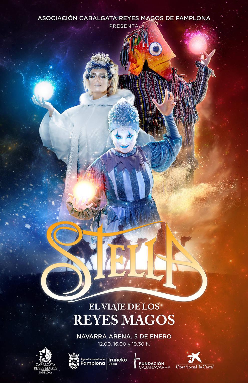Agotadas las entradas para el espectáculo de los Reyes Magos en el Navarra Arena