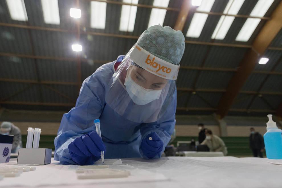 Notable descenso de los contagios en Navarra con el número más bajo de los últimos 6 días