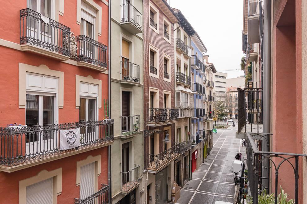 Piso con encanto en el Casco Antiguo de Pamplona