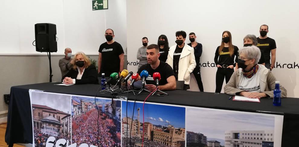 Los condenados del caso Alsasua agradecen el enorme apoyo recibido