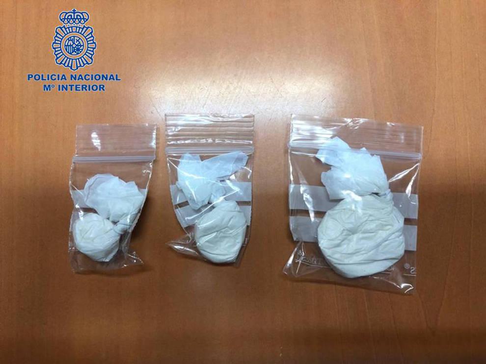 Detenido un hombre como presunto autor de un delito de tráfico de drogas