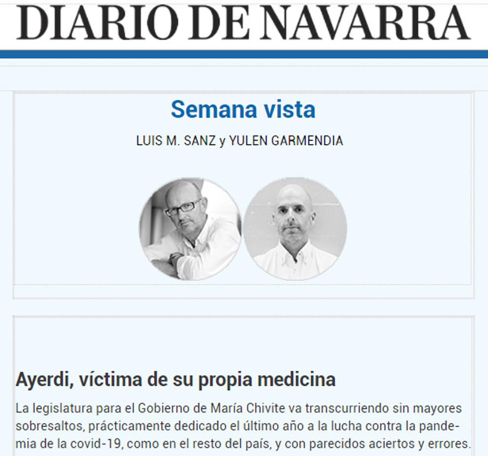 Diario de Navarra lanza dos nuevos boletines de opinión