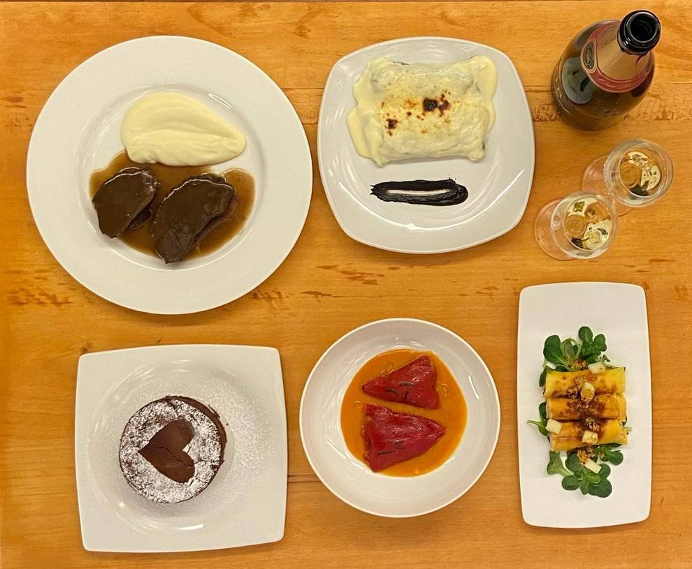 Doña Aniceta se encarga de que este San Valentín disfrutes de un menú de restaurante en casa