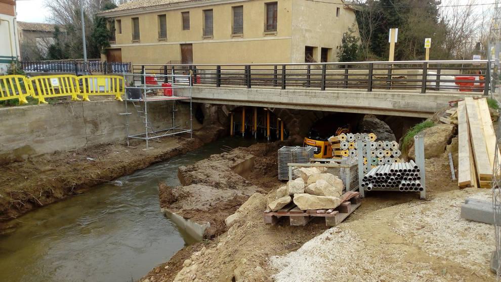 El acceso a Cascante por la Vía Romana se regulará mediante semáforos