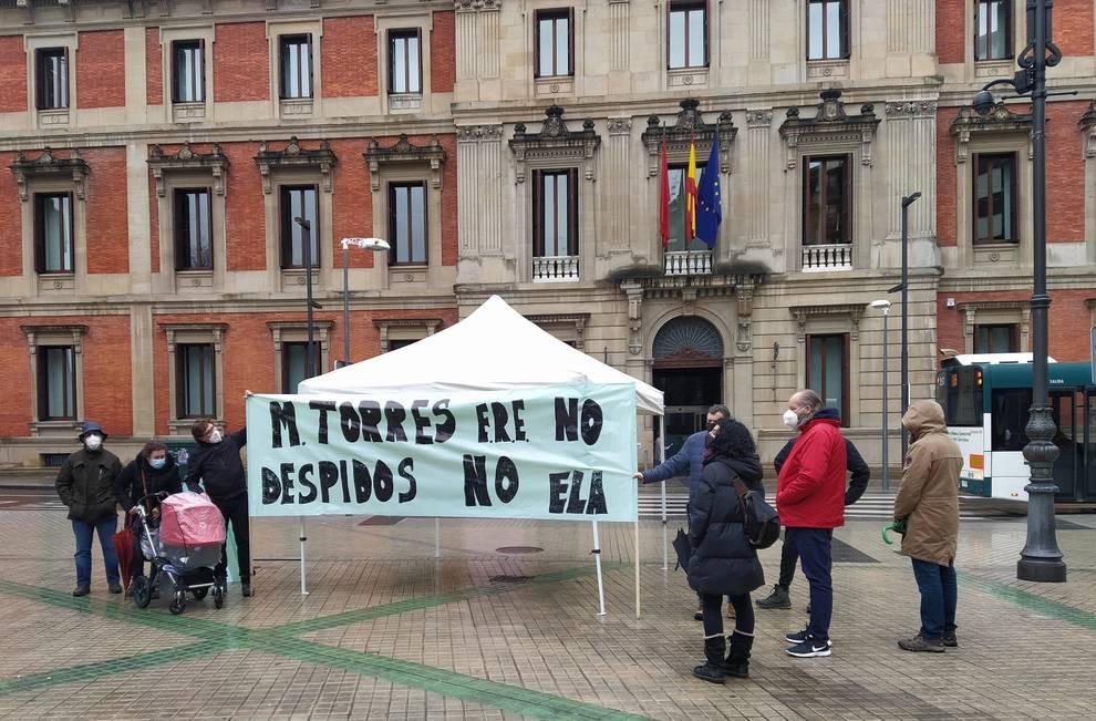 ELA pide la implicación del Gobierno foral en el conflicto de MTorres
