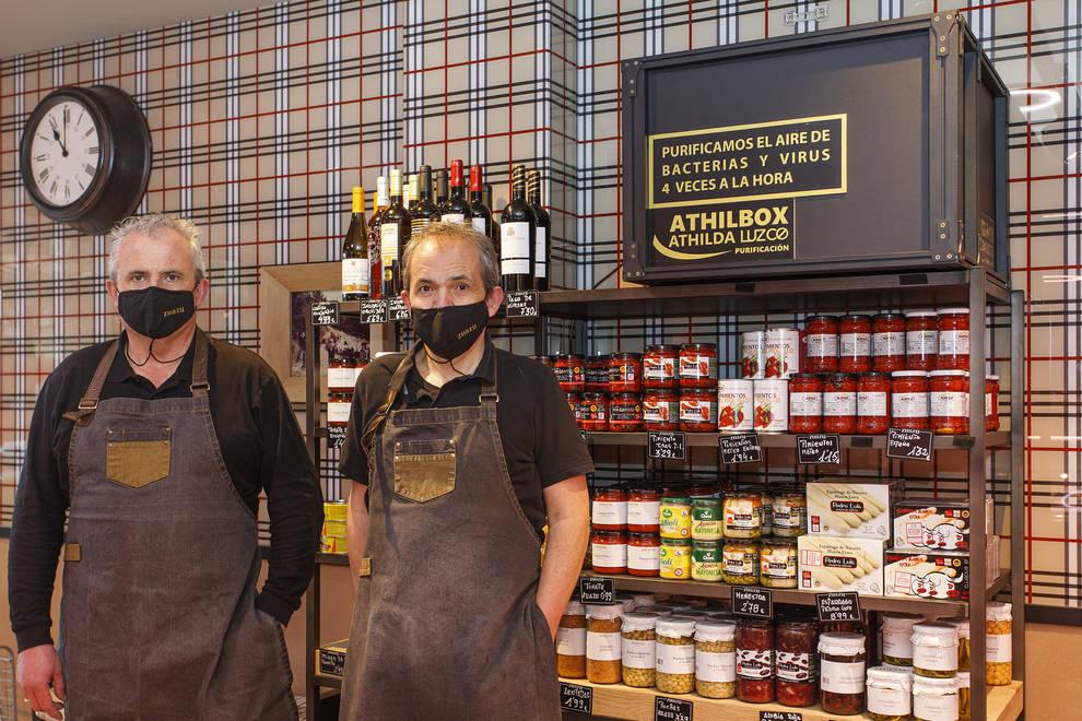La empresa Luzco ha convertido las Carnicerías Zuazu en un lugar seguro con su sistema