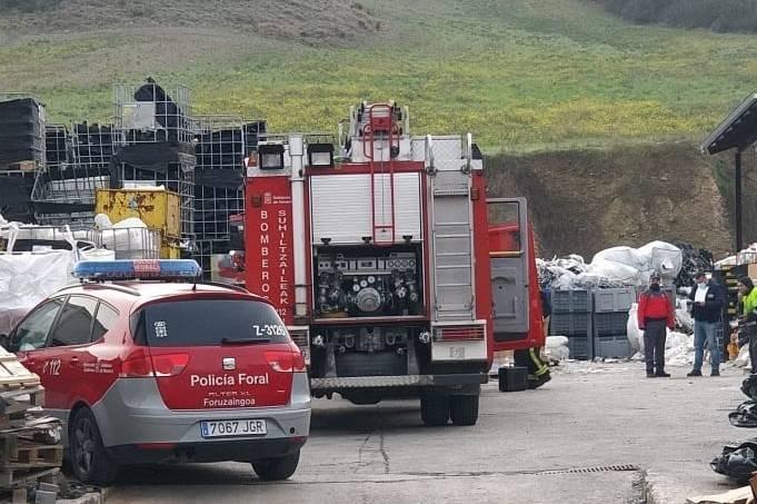 Un fallecido en un accidente laboral ocurrido en una empresa de Sorauren