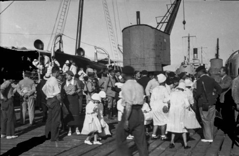 Navarra censa a exiliados tras el golpe militar de 1936