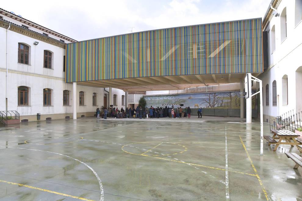 Pamplona invertirá un millón de euros en obras de reforma de siete colegios
