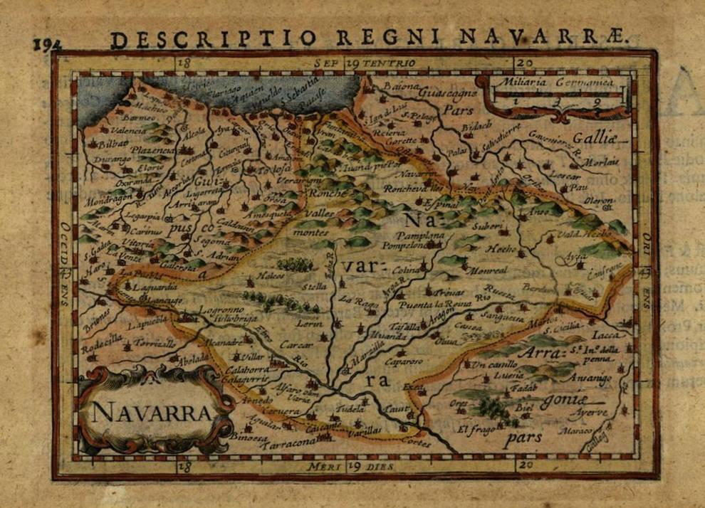 Aumenta la colección de cartografía e iconografía del Archivo de Navarra