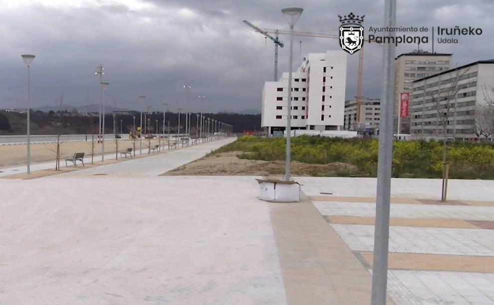 Pamplona ofrece siete parcelas para 300 viviendas en siete barrios de la ciudad