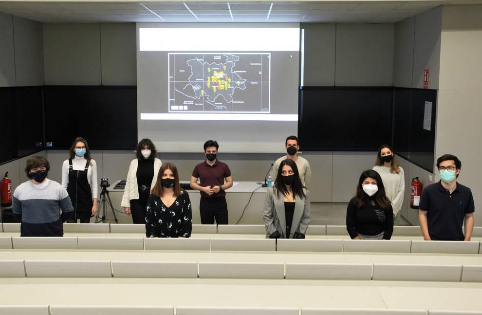 Un mapa del miedo recoge los lugares peligrosos de Pamplona para la mujer