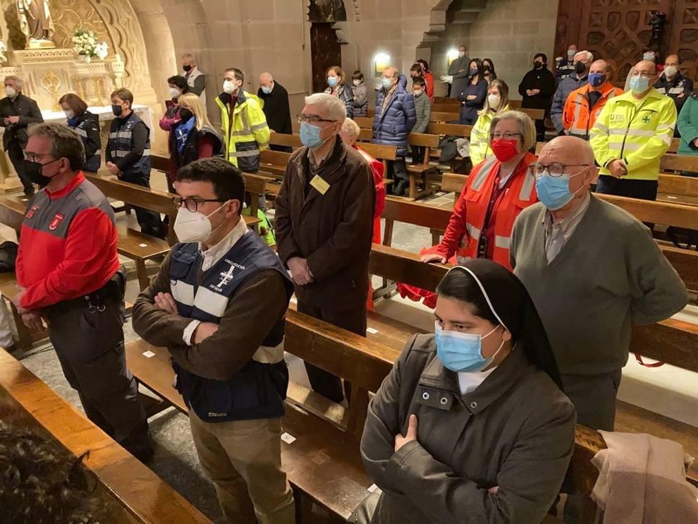 El Arzobispo reconoce en Javier a quienes hacen de las Javieradas un camino seguro