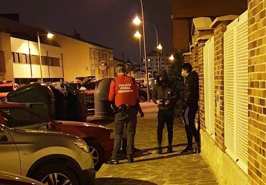 Policía Foral denuncia 104 infracciones por no respetar la normativa durante el fin de semana
