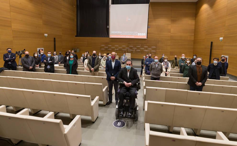 Presentación de la Memoria 2020 de la Fundación Caja Navarra.