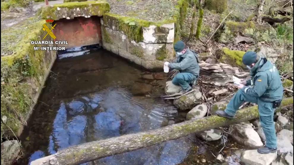 La Guardia Civil realizará inspecciones para controlar la perforación de pozos