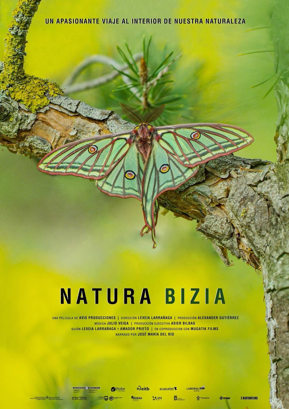 El documental Natura Bizia explora la amplia biodiversidad de Navarra