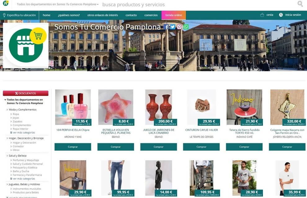 Somos Tu Comercio, nueva plataforma de Pamplona para competir con Amazon