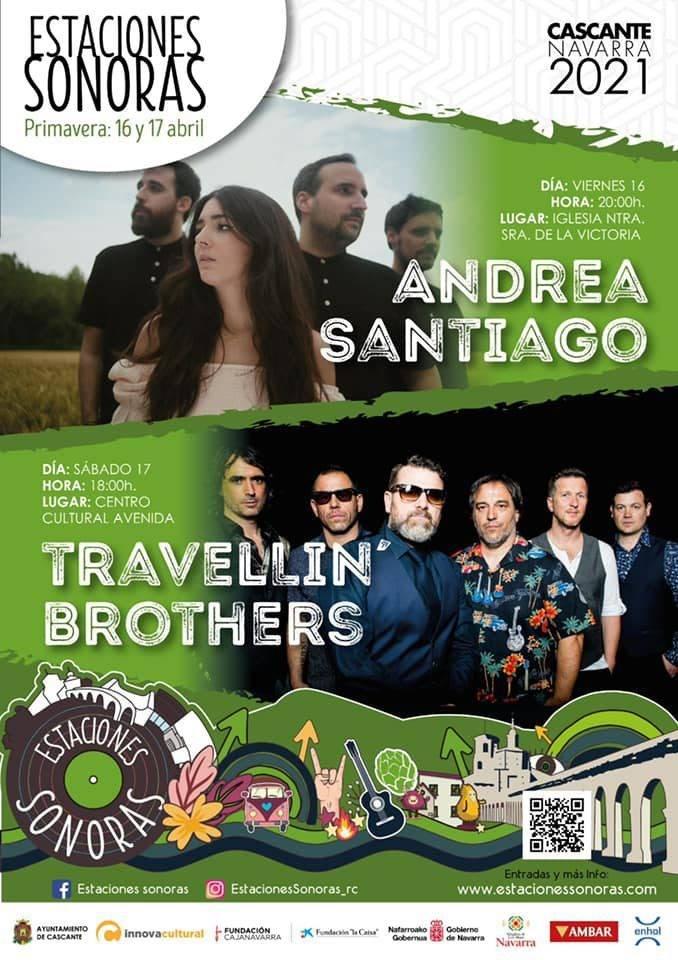 Andrea Santiago y Travellin Brothers inauguran el Estaciones Sonoras este fin de semana