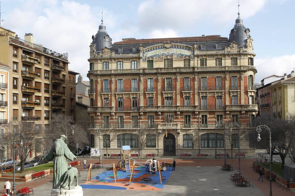 Fotografía edificio La Agrícola