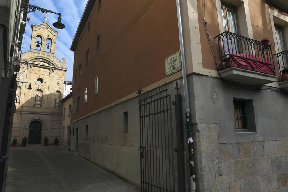 Fotografía de la calle Salsipuedes.