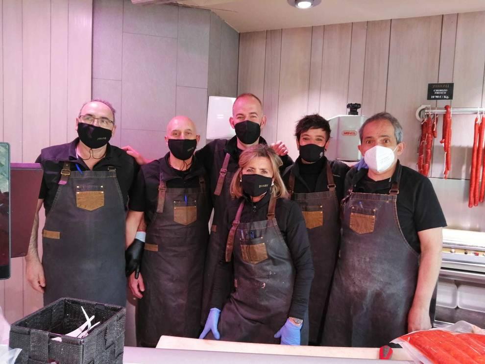 Equipo de Carnicería Zuazu.