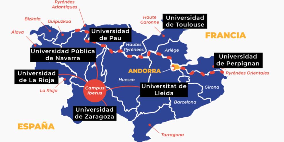 Campus mapa
