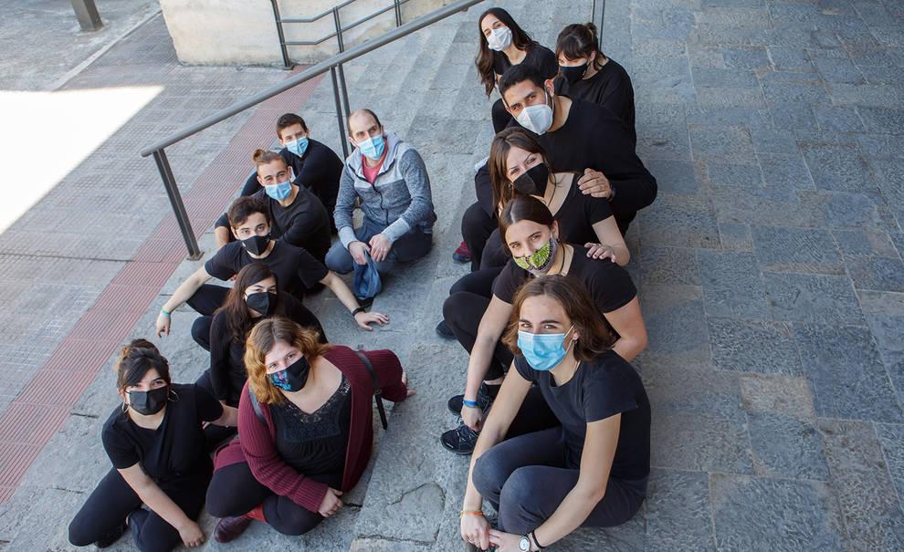 El grupo de teatro de la UPNA representa el jueves ¡Ay, muerte de mi vida!