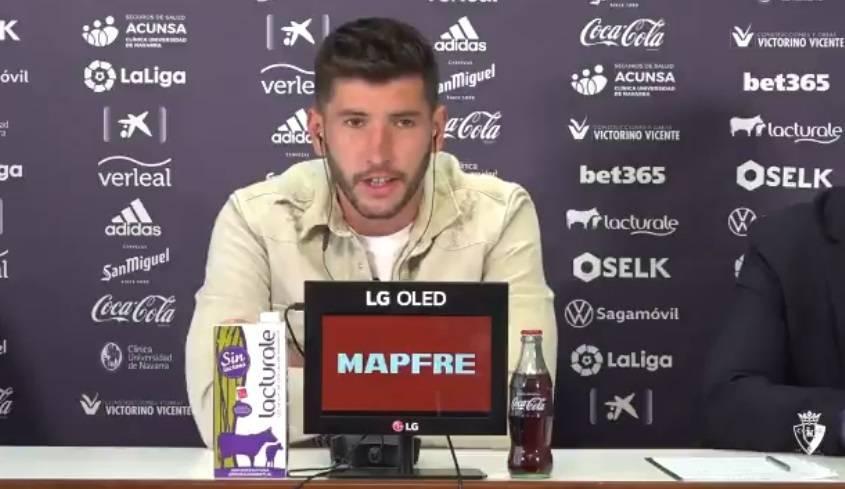 David García: Mi objetivo es seguir en Osasuna muchos años
