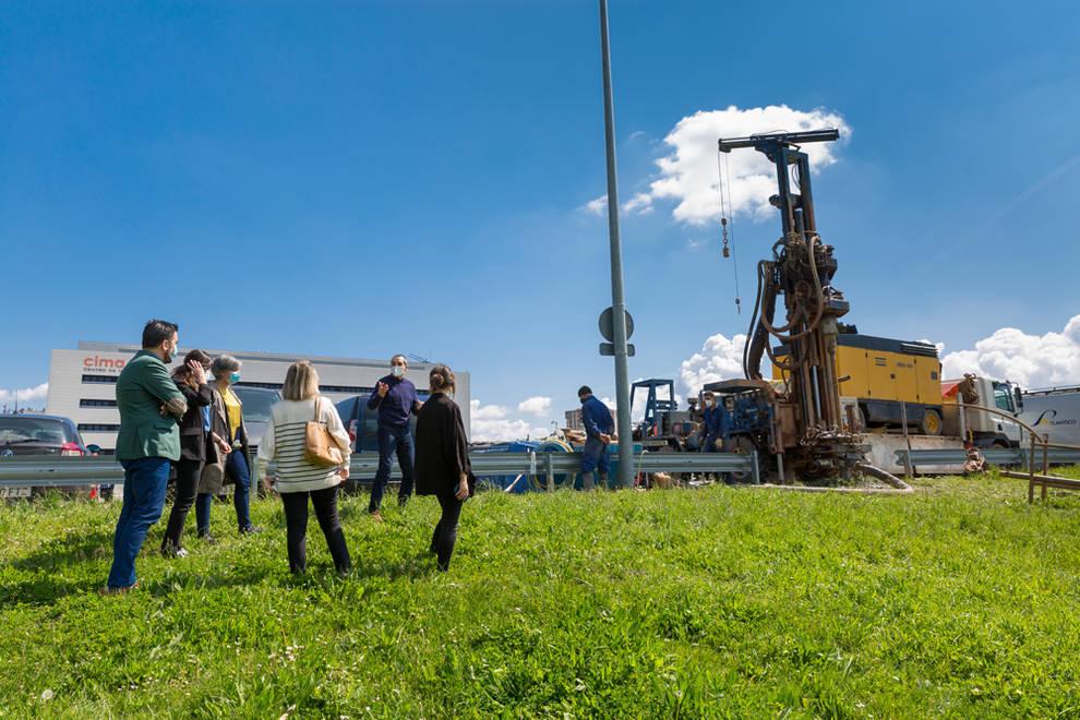 La UN realiza las pruebas de geotermia donde se ubicará el Museo de Ciencias