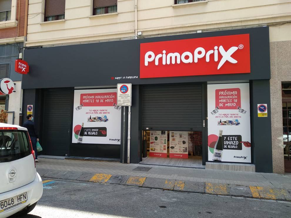 Primaprix abrirá su primer supermercado en Pamplona